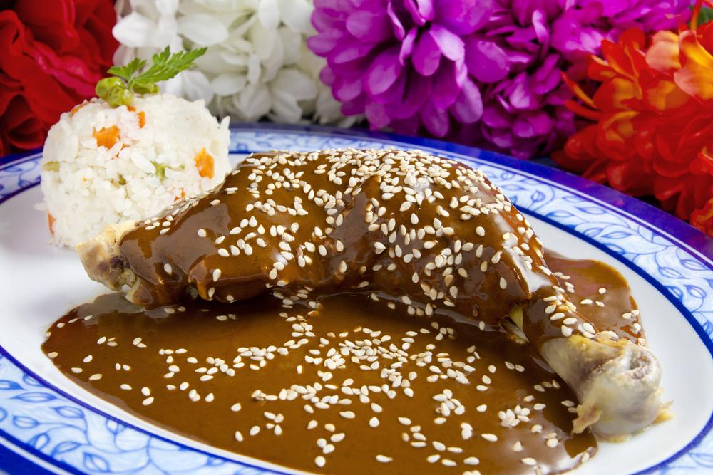 Mexican mole sauce