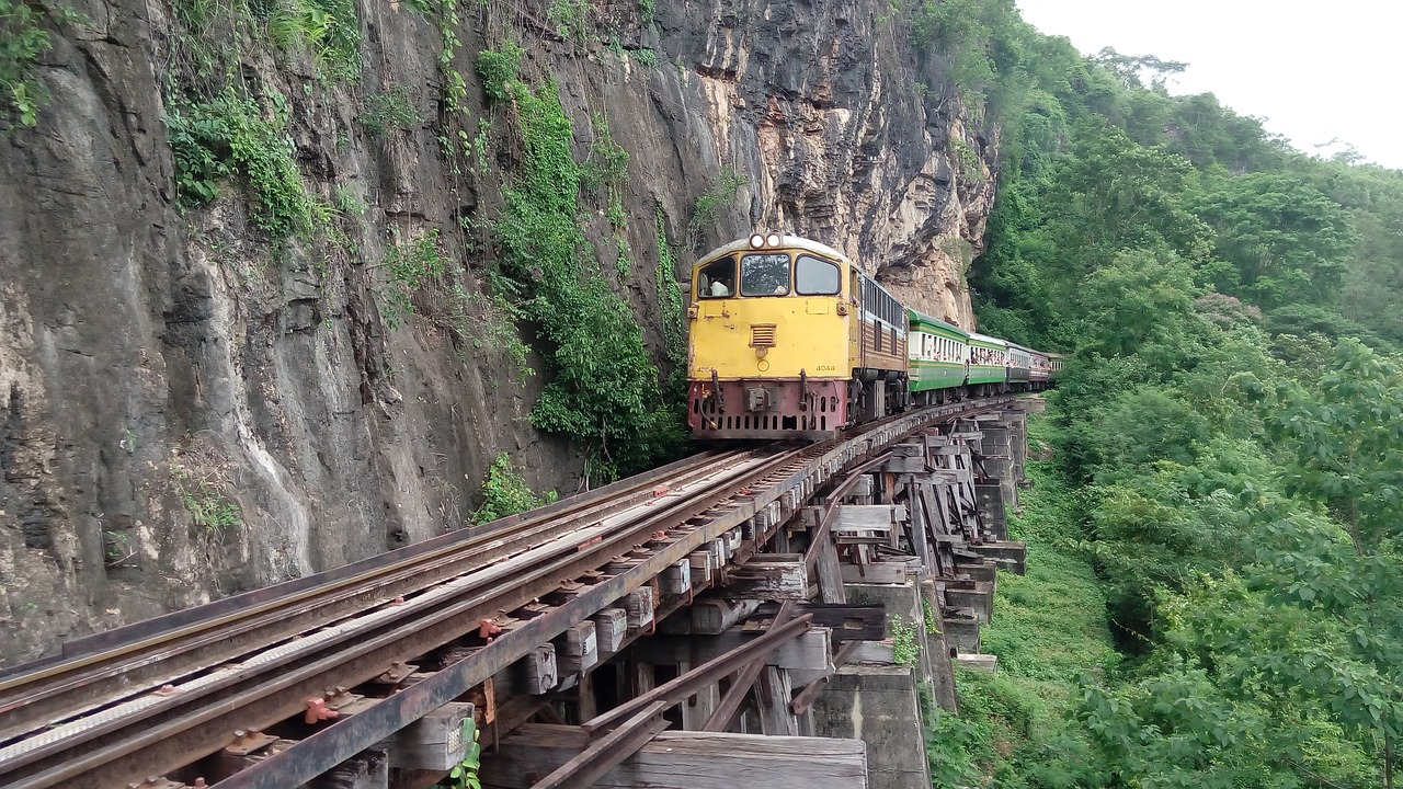 How do I book trains in Thailand?