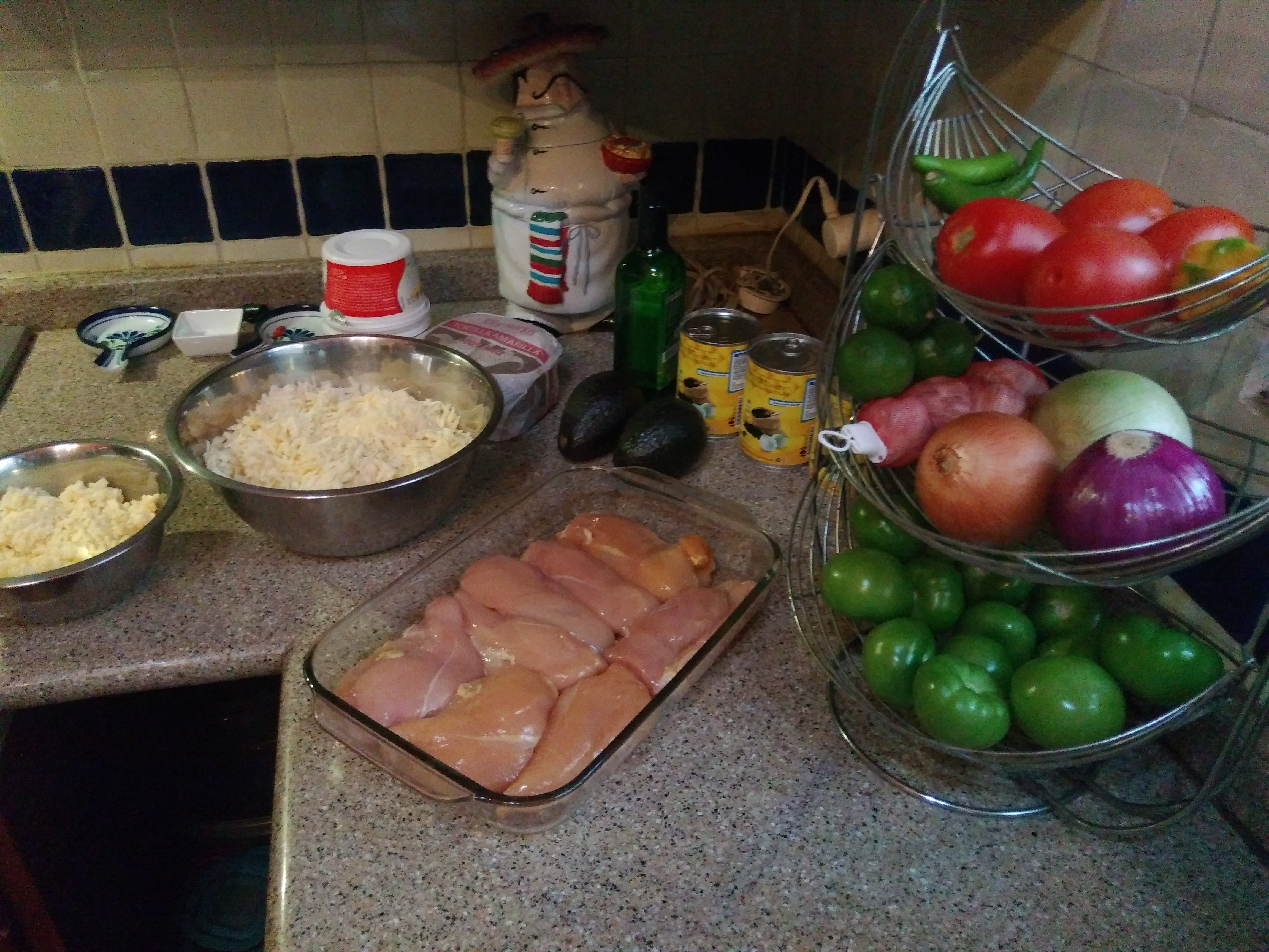 How to make enchiladas suizas